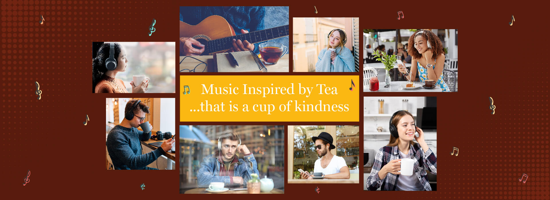 BMJ Music Inspired by Tea that is a cup of kindness