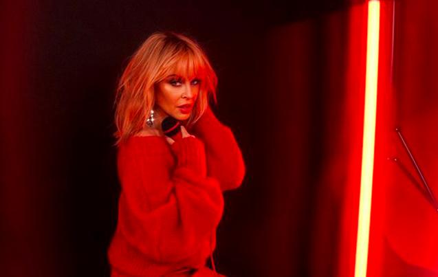 Kylie Minogue unveils new