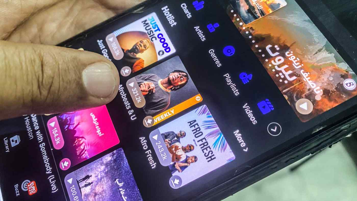 Popular Chinese music streaming app Boomplay growing fast in Africa