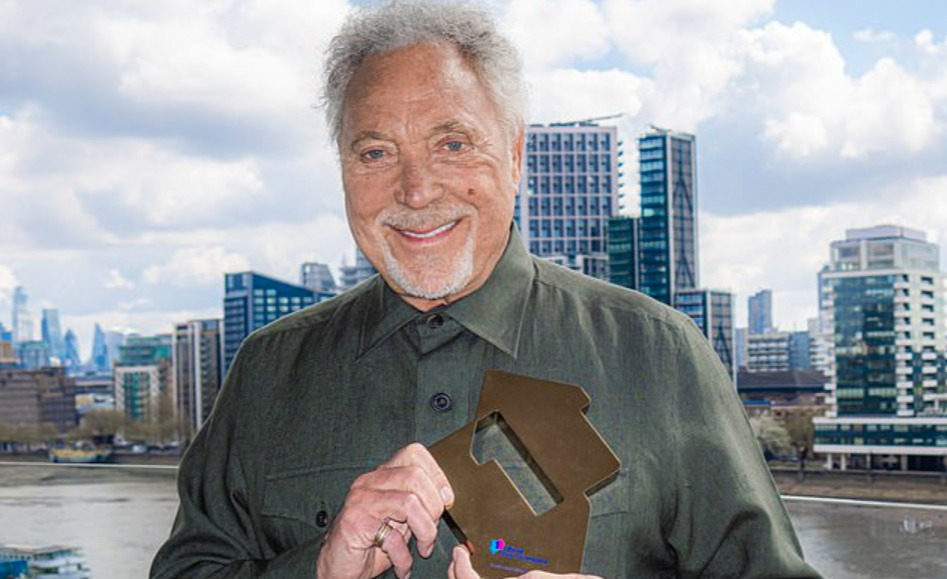 Now THAT'S unusual... Sir Tom Jones becomes oldest male to have a No.1 album in the UK charts (overtaking Bob Dylan who topped the chart aged 79 last year)
