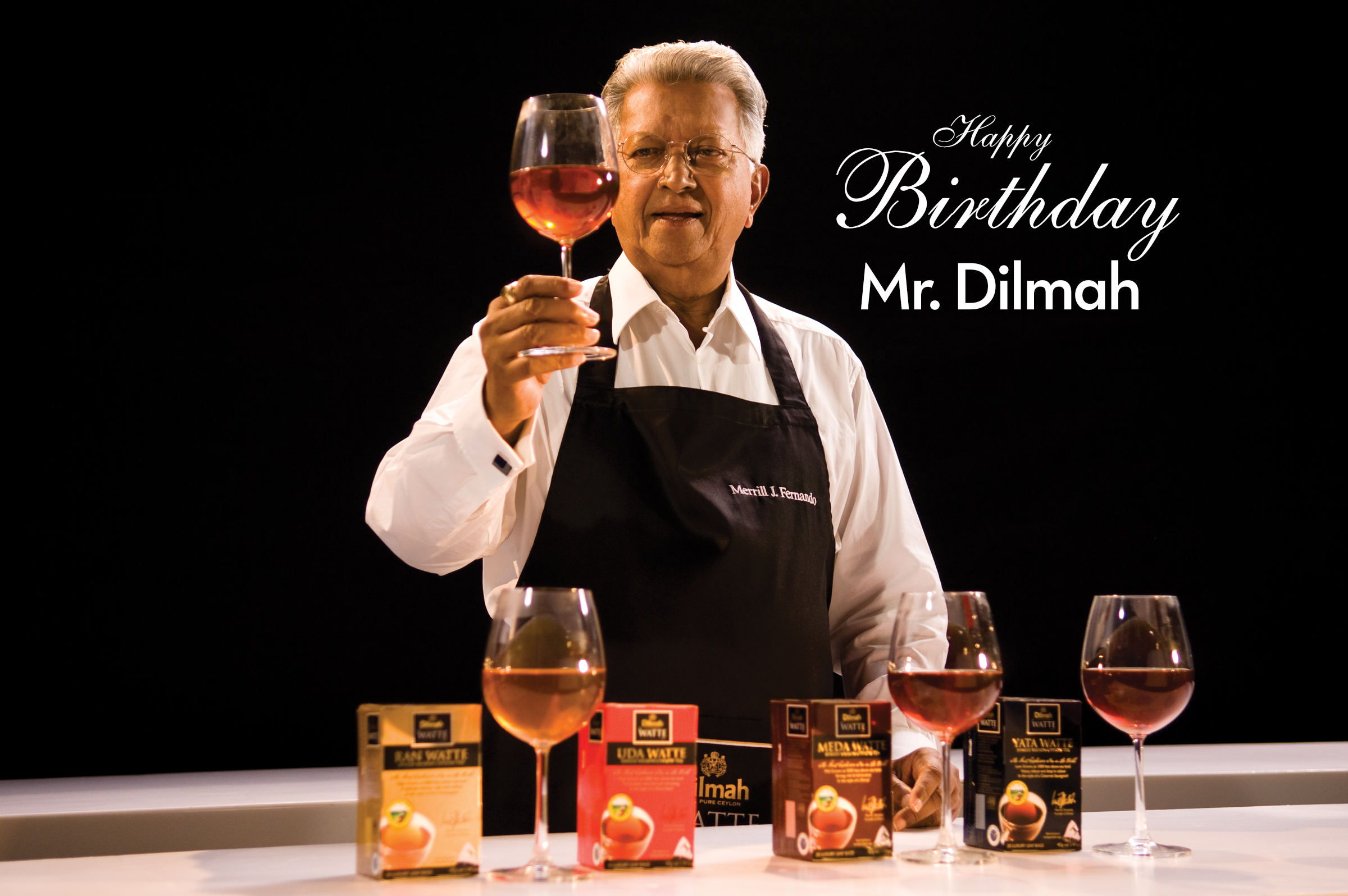 Birthday Wishes from the Global Dilmah Family