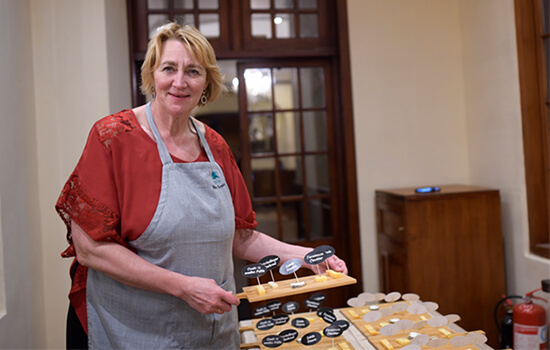 TEA AND CHEESE, A WORTHY MATCH: BETTY KOSTER