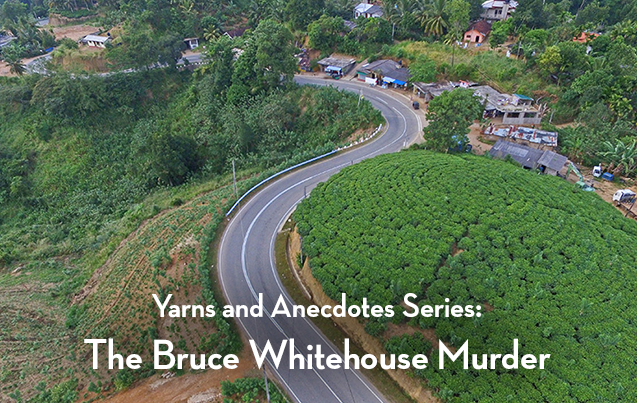The Bruce Whitehouse Murder in 1949. 5 mins 40 secs