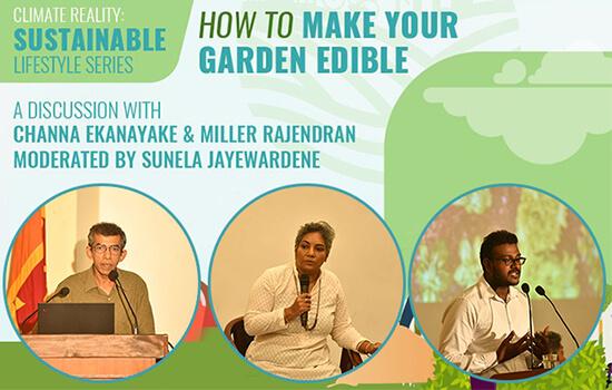 How to make your garden edible