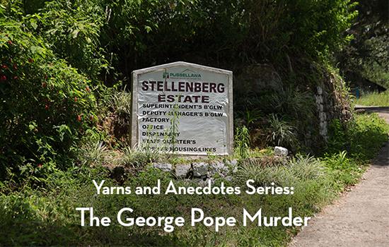 The George Pope Murder in 1941. 7 mins 45 secs