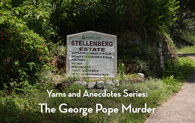 The George Pope Murder in 1941. 7 mins 45 secs