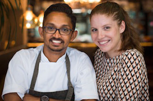 Dilhan Fernando chats with Chef Rishi Naleendra & Manuela Toniolo (Australia)